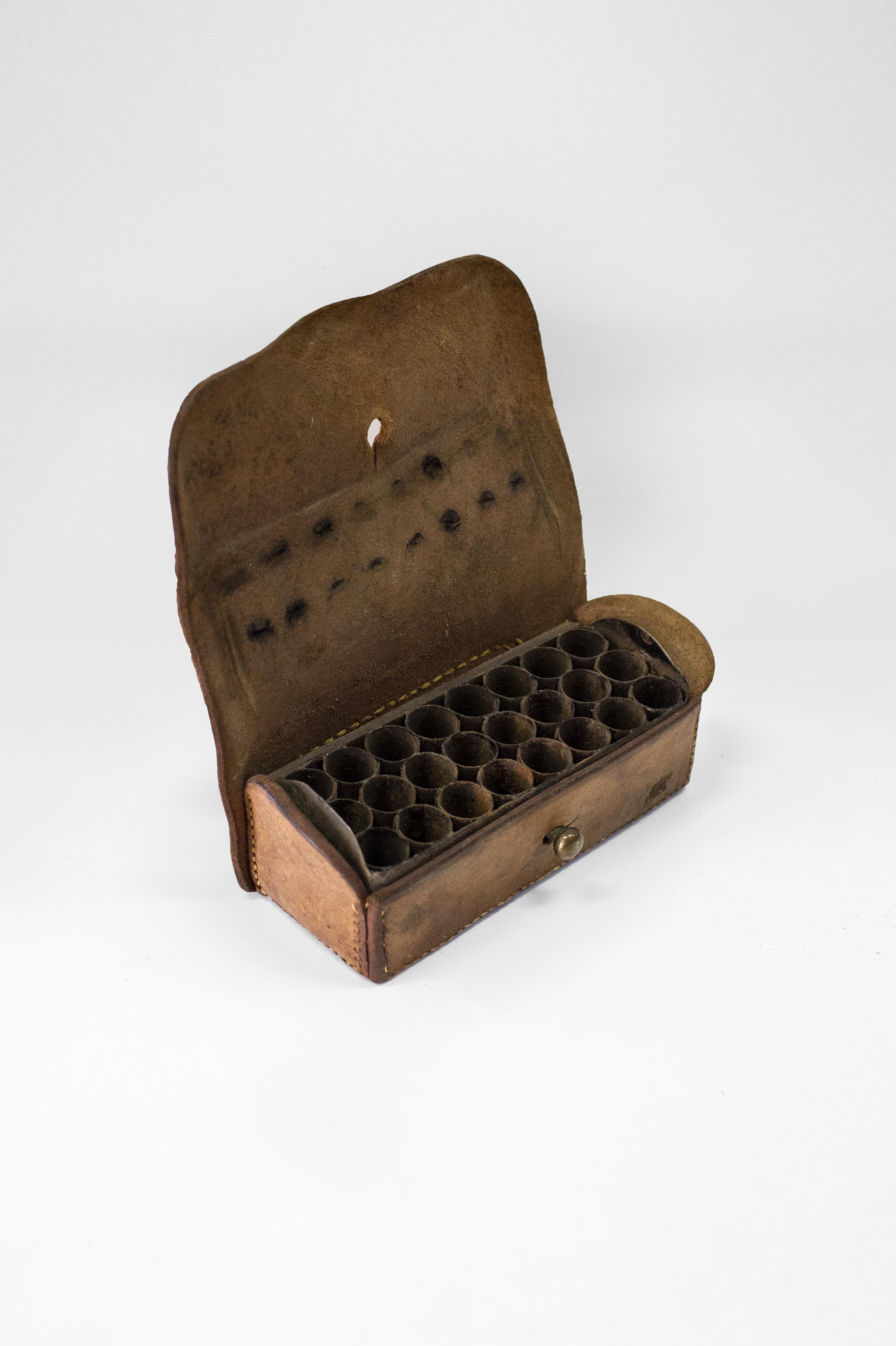 The Sammy Marks Leather Cartridge Case